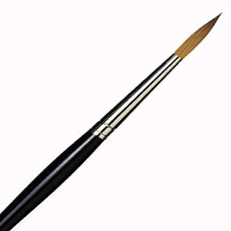 Mary Whyte Kolinsky Round Brush Size 8