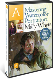 Mastering Watercolor Portraiture by Mary Whyte DVD by Mary Whyte